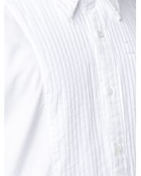 Thom Browne - White Button-down Collar Oxford Shirt for Men - Lyst