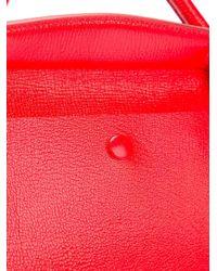Jil Sander - Red Double Zip Tote - Lyst
