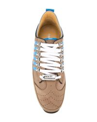 DSquared² - Brown '251' Sneakers for Men - Lyst