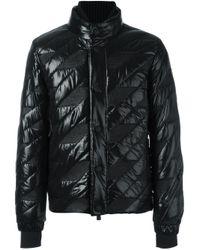 moncler grenoble 39 bramans 39 jacket in black for men lyst. Black Bedroom Furniture Sets. Home Design Ideas