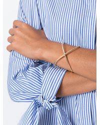 Elizabeth and James - Metallic 'windrose' Cuff Bracelet - Lyst
