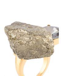 Marni - Metallic Pyrite Ring - Lyst