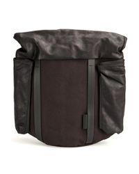 Côte&Ciel | Black Buckled Shoulder Bag for Men | Lyst