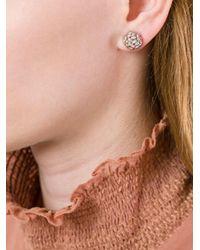 Bea Bongiasca - Metallic 'double Rice Ball' Earrings - Lyst