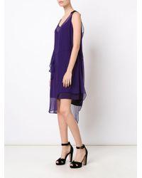 N°21 - Multicolor No21 Asymmetric Hem Dress - Lyst