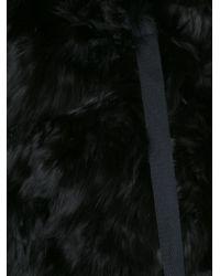 Ann Demeulemeester - Black 'mosso' Gilet - Lyst