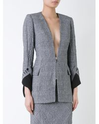 Kitx - Black - 'facet' Jacket - Women - Cotton/linen/flax - 6 - Lyst