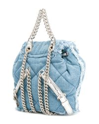 Ferragamo - Blue Mini 'vara' Backpack - Lyst