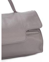 Zanellato - Gray Flap Closure Tote Bag - Lyst