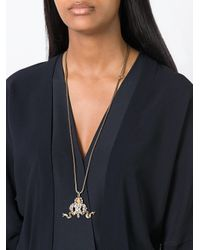 Rada' | Multicolor Ribbon Pendant Necklace | Lyst