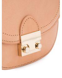 Loeffler Randall - Natural Mini Saddle Bag - Lyst