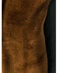 Majestic Filatures - Gray Collarless Mid Coat - Lyst