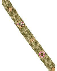 Carolina Bucci - Metallic Melange Woven Bracelet - Lyst