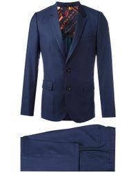 Paul Smith | Blue Flap Pockets Two-piece Suit for Men | Lyst