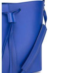 PB 0110 - Blue Drawstring Shoulder Bag - Lyst