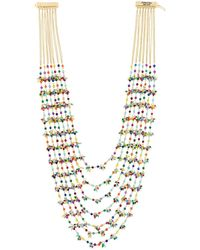 Rosantica | Metallic Layered Long Necklace | Lyst