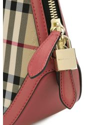 Burberry - Multicolor 'house Check' Tote - Lyst