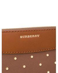 Burberry - Brown 'nova Check' Cross Body Bag - Lyst