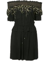 Rachel Zoe | Black Off Shoulder Dress | Lyst