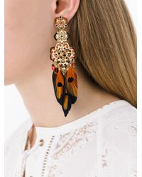 Gas Bijoux | Metallic 'tapachula' Earrings | Lyst