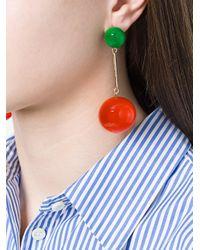 J.W.Anderson - Orange Spheres Earrings - Lyst