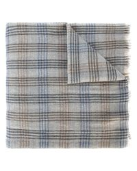 Loro Piana | Gray Checked Scarf for Men | Lyst