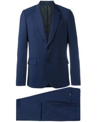 Paul Smith | Blue - Two-piece Patterned Suit - Men - Cupro/wool - 48 for Men | Lyst