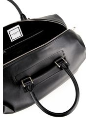 Wooyoungmi - Black Logo Stamp Holdall for Men - Lyst