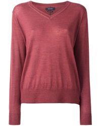 Isabel Marant | Red - Bilbao Pullover - Women - Silk/cashmere - 36 | Lyst