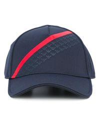 Emporio Armani | Blue Striped Baseball Cap for Men | Lyst