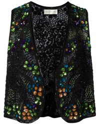 Faith Connexion | Black Embellished Waistcoat for Men | Lyst