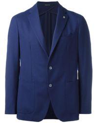 Tagliatore   Blue Two-button Blazer for Men   Lyst