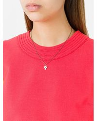 Rosa Maria - Metallic Cross Pendant Necklace - Lyst