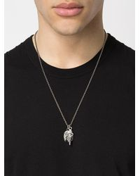 Tobias Wistisen - Metallic Broken Stone Necklace for Men - Lyst