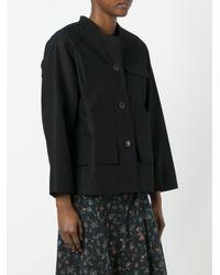 Isabel Marant - Black Sasha Gabardine Jacket - Lyst