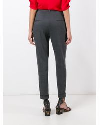 Isabel Marant - Gray Nadi Trousers - Lyst