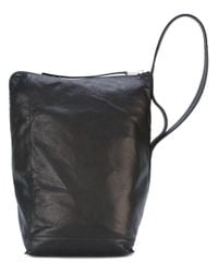 Rick Owens | Black Bucket Shoulder Bag | Lyst