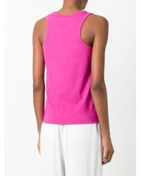 KENZO - Pink Tiger Tank Top - Lyst