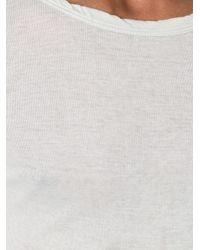 Rick Owens - Green Long Sleeve T-shirt for Men - Lyst