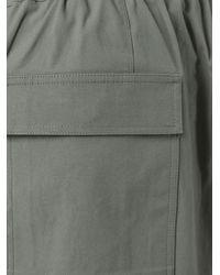 Rick Owens - Brown Pod Shorts for Men - Lyst