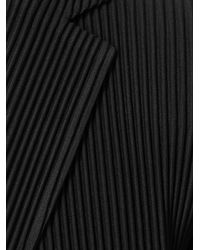 Homme Plissé Issey Miyake - Black Pleated Light-weight Jacket for Men - Lyst