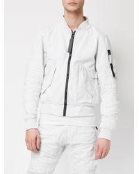 G-Star RAW | White Bomber Jacket for Men | Lyst