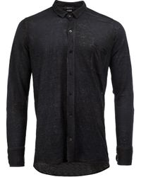 Avant Toi | Blue Linen Shirt for Men | Lyst