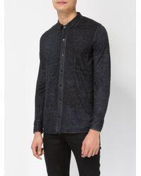 Avant Toi - Blue Linen Shirt for Men - Lyst