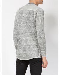 Avant Toi | Gray Linen Shirt for Men | Lyst