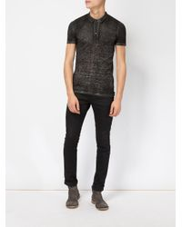 Avant Toi - Black Polo Shirt for Men - Lyst