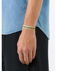 Palm Angels - Black Kill Bracelet for Men - Lyst