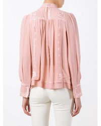 Isabel Marant | Pink Mara Blouse | Lyst