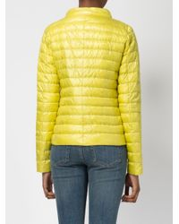 Herno - Multicolor - High Neck Down Jacket - Women - Feather Down/polyamide - 44 - Lyst