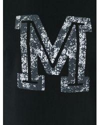 Maison Margiela - Black M Print T-shirt for Men - Lyst